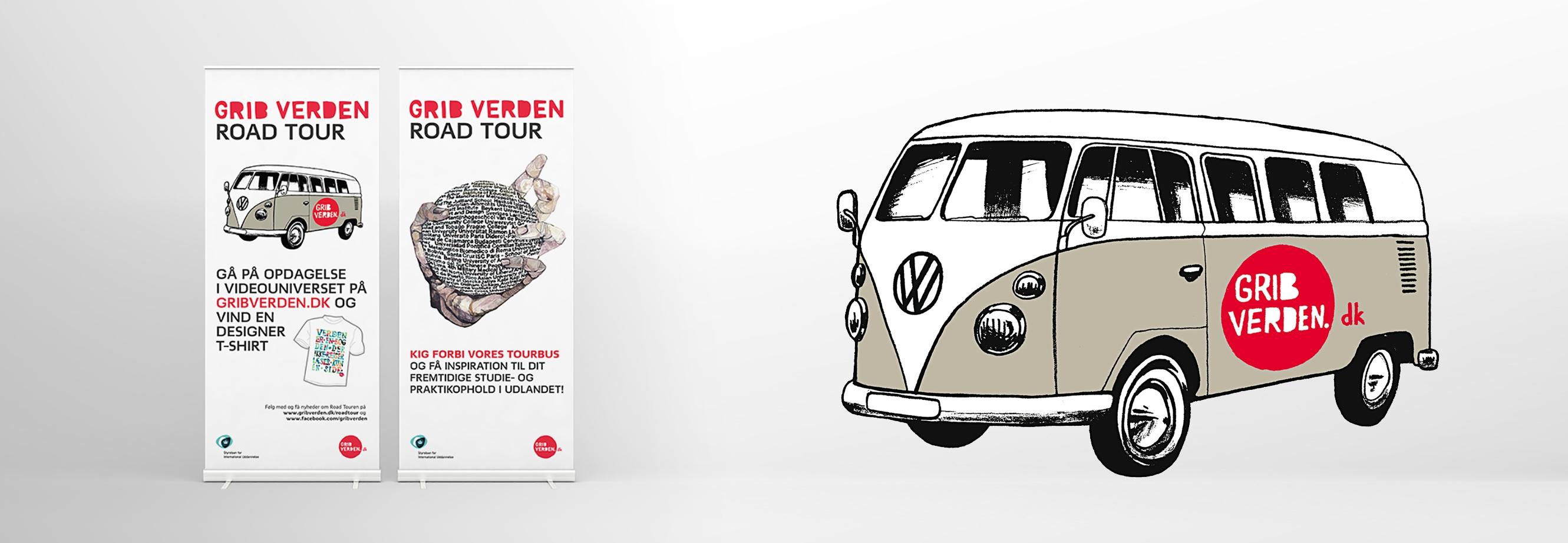 Kampagnedesign for Grib Verden
