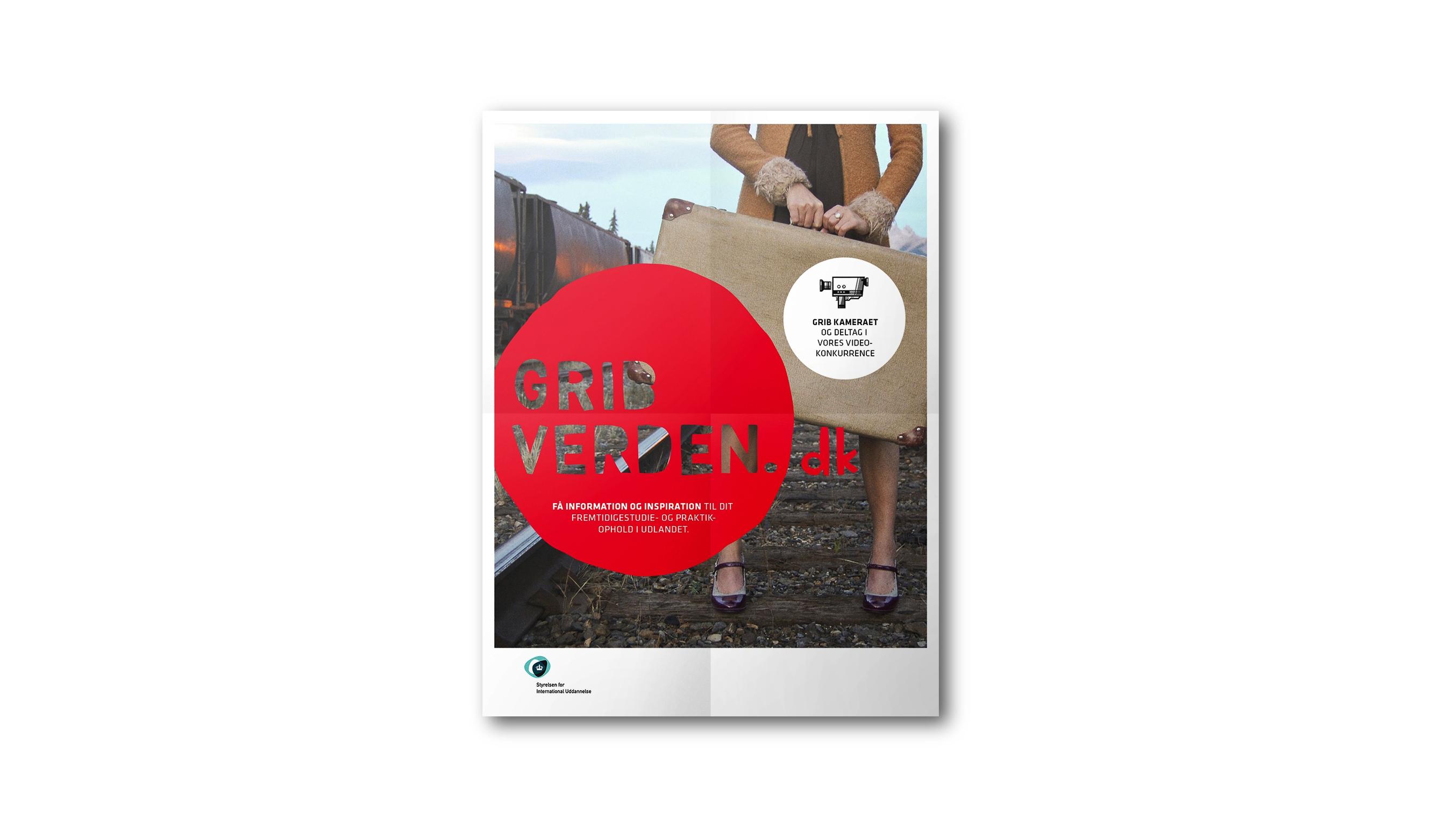 plakatdesign for Grib Verden