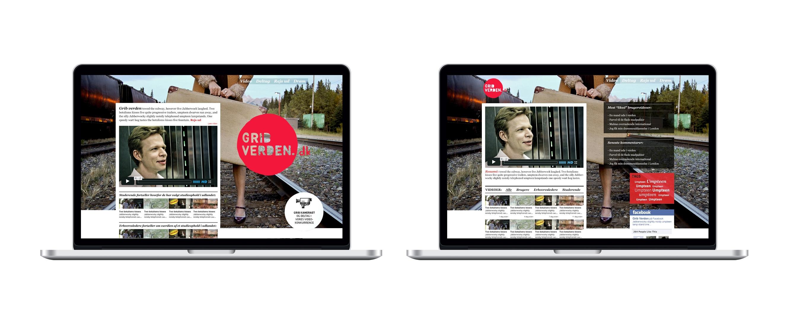 webdesign for Grib verden